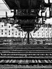Jailed #13 (franleru1) Tags: francoiselerusse london londres nb omdem5 olympus photoderue streetphotography architecture blackandwhite chemindefer ferroviaire monochrome noiretblanc railway urbain urban urbanlandscape urbandisaster urbanisme