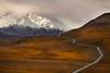 Road to Denali (Ania Tuzel Photography) Tags: denali mountmckinley road exploring ef70200mmf4l wilderness alaska landscape snowcapped mountain tallest 20320feet