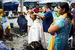 Hair shaving ceremony (leonlee28) Tags: haircut hairshaving offering haircutceremony hairshavingceremony thaipusam thaipusam2018 thaipusammalaysia thaipusamperak thaipusamipoh people fastival celebration ipoh perak 2018 jan2018 leonlee leonlee28 hindufestival hindu peoplearoundus sonya7ii sonymirrorless a7ii samyang35mmf28 35mmf28