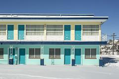 Royal Court Motel. (stevenbley) Tags: wildwood wildwoodcrest northwildwood nj newjersey beach winter snow offseason hotel motel january shore jerseyshore midcentury royalcourtmotel