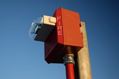 Wheelock MTWP horn/strobe (SchuminWeb) Tags: schuminweb ben schumin web washington dc district columbia october 2017 noma uline arena parking garage garages structure park car deck ice company rei ulinearena washingtoncoliseum coliseum fire alarm alarms cooper wheelock outdoor weather proof weatherproof resistant mt horn strobe horns strobes electronic notification appliance appliances firealarm firealarms light lights strobelight strobelights red sunset sun set