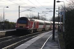 43257 Widdrington, Northumberland (Paul Emma) Tags: uk england northumberland widdrington railway railroad dieseltrain train hst 43257