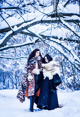 Marna, the Queen Mother, and Valdorv, the Regent (1) (toriasoll) Tags: bjd abjd doll dolls dollphotography dollphoto winter winterphoto simplydininerichard simplydivine simplydivinebjd stinesculpturebjd richard amadiz amadizdolls amadizmagdalena amadizstudio magdalena