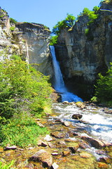 Salto Chorillo,Chalten,parque nacional Los Glaciares !!! (Gabriel mdp) Tags: agua sallto naturaleza parque nacional chalten patagonia argentina paisaje