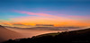 Valley in Pastels (explore) (philipleemiller) Tags: landscape sunset pacificcoast california d80 panorama fog valleyscenes silhouetted hills explore