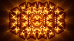 From the Rue Vilin (Luc H.) Tags: orange vilin rue graphic graphism fractal abstract digital
