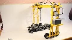 Lego Technic Crane (technicfan) Tags: lego technic technicfan crane truck mercedes benz volvo liebherr moc model custom creation beams bricks axle offroad 4x4 8x8 awd fwd lights steer driv e ing ed pf ir remote controlled own link b c d f g h j k l m n o p q r s t u v w x y z advent calendar zetros eos canon 1300 man kat 1 bundes wehr unimog 5000