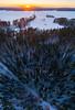 sunset vertorama (Jontsse) Tags: jyväskylä centralfinland finland fi sunset panorama vertical vertorama aerialphotography drone phantom 4 pro fc6310 dji suomi