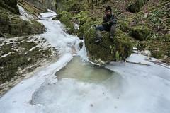 Bassin glacé (Pierre Divoux) Tags: doubs mouillevillers nature cascade eau froid glace hiver portrait ruisseau creek river