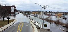 Flooding in Salem (adamantine) Tags: flood flooding storm salem massachusetts