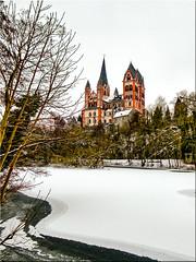 Der Winter kam zurück (juvhadamar) Tags: limburganderlahn limburgweilburg limburg hessen deutschland lahn dom