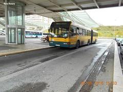 CCFL 1550 Volvo B10M 90 - 71 - FH Gare Oriente [ 4 ] (madafena1) Tags: ccfl 1550 volvo b10m autocarro articulado gare oriente