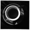 Espresso (bob august) Tags: 2018©rpd'aoust bw blackwhite café caféjavamythe canada coffee coffeeshop espresso formatcarré iphone iphone4 montréal noiretblanc squareformat tasse villeray