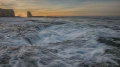 High Tide this morning (FollowingNature (Yao Liu)) Tags: ngc followingnature hightide sunrise tide santacruz