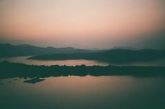 (Instagram: @halloloes) Tags: analog hongkong sunset dusk grain 35mm analogue expiredfilm film nature landscape