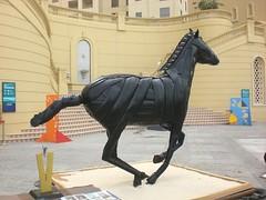 Recycling Kunstwerk Flodin (mo_metalart) Tags: usedtireart artandcraftfromtires amazingtireart faszinationtireart theartoftyres horseart runninghorseart