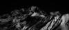 Dramatic Alpenglow (Frédéric Fossard) Tags: monochrome art abstrait surréaliste texture paintin noiretblanc blackandwhite dark alpenglow neige snow fondnoir montblanc alpes savoie hautesavoie hiver winter montagne mountain hautemontagne atmosphère mood moody lumière ombre lueur light shadow cimes crêtes arêtes ridge mountainpeak mountainrange altitude vallée vallon valley snowcapped snowcovered sommet massifdumontblanc dramatique dramaticlight