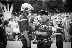 Contrexéville, cérémonie du 14 juillet 2017 (Graffyc Foto) Tags: 14 juillet de contrexeville remise grade cspcv cspvc ceremonie vosges lorraine noir et blanc graffyc foto 2017 nikon d700 fete nationale d300 sapeurs pompiers vittel contrex bw grand est