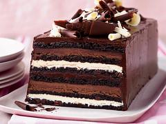 Chocolate Truffle Layer Cake (creativeelegancecuisine) Tags: recipe chocolate truffle layercake dessert cake whitechocolate darkchocolate
