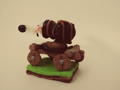Another view of the Polymer Clay Cannon Cart (Sasha CraftSpace) Tags: sashacraftspace cannon cannoncart cannonball trojan war colors fight clashofclans clashroyale clayclaim polymerclay clay fimo elegant art bronze midair timelapse frozen