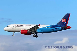 A319-115X.ACJ OM-BYA SLOVAK GOVERNMENT