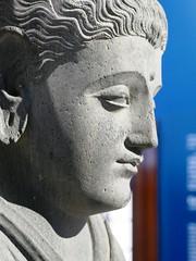 Buddha, c.200 AD, Jamalgarhi, Kyber Pakhtunkhwa, Pakistan (jacquemart) Tags: britishmuseum london bloomsbury museum asian china chinese buddha c200ad jamalgarhi kyberpakhtunkhwa pakistan