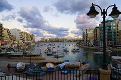 Spinola Bay, St Julian, Malta (Andrey Sulitskiy) Tags: stjulian malta