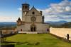 Basilica Superiore di San Francesco (MassimilianoBianchini) Tags: sky clouds church chiese assisi umbria urban landscape cityscape