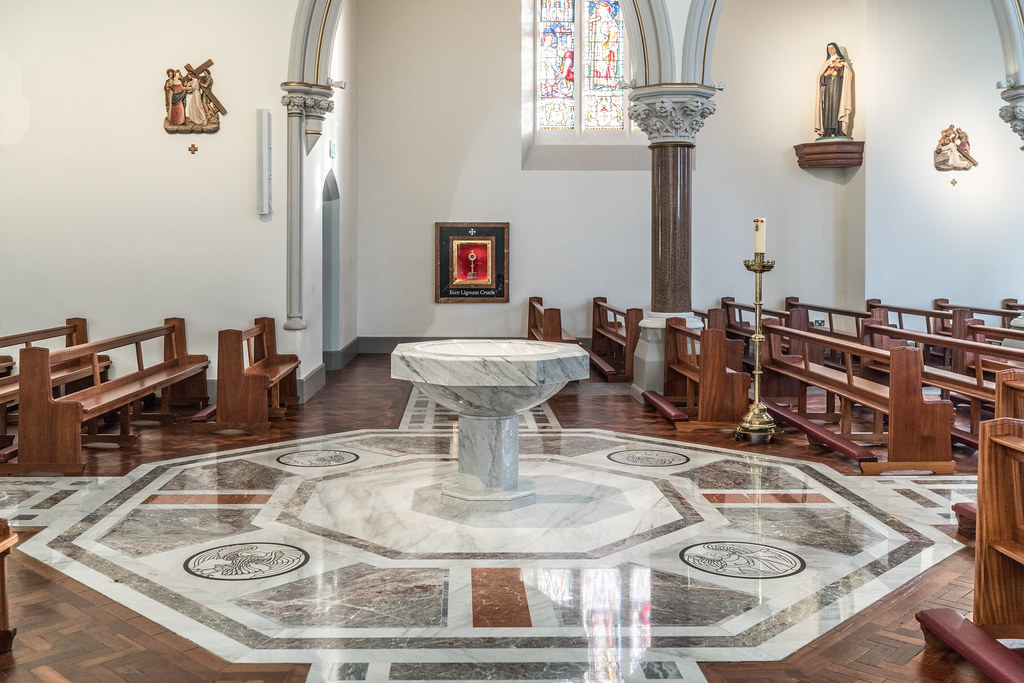 INTERIOR OF HOLY CROSS CHURCH [DUNDRUM JANUARY 2018]-135244