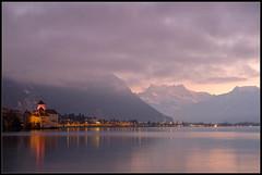 Lago Leman y castillo de Chillon (Aleix VU) Tags: suïssa suiza montreux llac lago lac switzerland