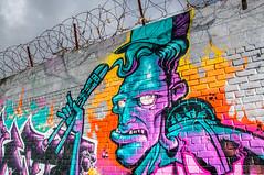 The mad Scientist (Tony Shertila) Tags: europe britain england merseyside liverpool graftonst baltic market graffiti streetart scientist unitedkingdom gbr