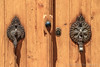 Door Knockers, Abyaneh Village, Isfahan Province, Iran (Feng Wei Photography) Tags: ancient middleeast isfahan abyaneh islam landmark colorimage islamic traveldestinations door doorhandle builtstructure iran iranianculture buildingexterior islamicculture house horizontal outdoors sunny travel tourism architecture village ir
