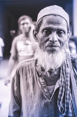 Let's Retouch Act of Humanity before Differentiating with Religion. (Onnesion) Tags: bangladesh portrait street onnesion photography old man religion differentiation act humanity shirt retouch