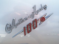 248 Austin Healey 100-6 Badge (robertknight16) Tags: austinhealey british 1950s badge badges automobilia