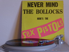 Sex Pistols - Never Mind The Bollocks Here's The Sex Pistols (1977) (stillunusual) Tags: sexpistols nevermindthebollocks bollocks nevermindthebollocksheresthesexpistols album albumcover albumart sleeve picturesleeve recordcover recordsleeve artwork vinyl record turntable punk punkrock 1970s 1977