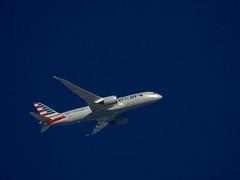 787 Dreamliner, AA128, Shanghi to DFW (duggar11) Tags: 787dreamliner airplane dfw shanghi tordadowarnings storms boeing
