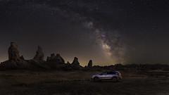 Star Gathering TP-121_L (toxictabasco) Tags: trona pinnacles milkyway galaxy subaru landscape crosstrek nightphotography