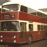 OK Motors ex Tyne & Wear PTE GBB532K Bishop garage 1981