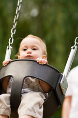 Swing (Jeremy Caney) Tags: bothelllanding casey children cooper coopermargell family holli oneyearold park parks photoshoots playground portrait swing swings toddler
