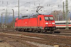 DB 185 255 Basel Bad (daveymills31294) Tags: db 185 255 basel bad baureihe traxx deutsche bahn