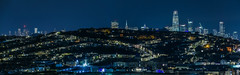 over the hill ll (pbo31) Tags: sanfrancisco california nikon d810 color night dark black urban january winter 2018 boury pbo31 city bayview district skyline salesforce transamerica over view blue