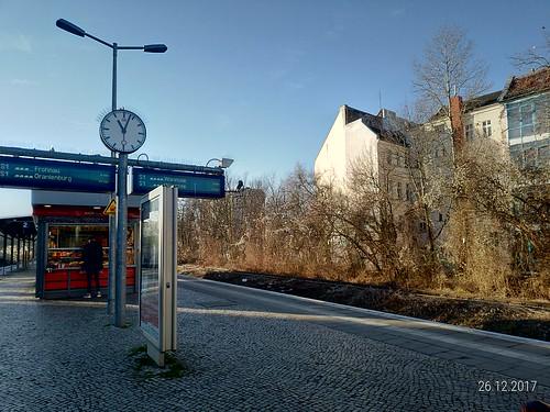 Estação de trem para Sachsenhausen