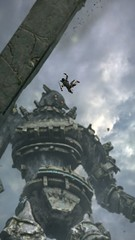 FREE FALL (Ninjerello) Tags: shadowofthecolossus sotc remake wallpapers bluepointgames wanderer agro colossus colossi photomode ps4 sonyjapanstudios bestscreenshot