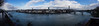 At the banks of the upper rhine 3 (flickrolf) Tags: rhine rhein water pano panorama sky clouds city banks bridges