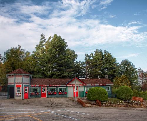 Santa's Post Office Building - North Pole - Adirondacks - New York