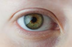 Day 319, Year 10. (evilibby) Tags: 365 36510 365days 365days10 libby eye macro eyelashes iris skin wrinkles