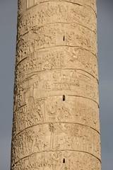 Trajan's Column (ramosblancor) Tags: humanos humans arte art arquitectura architecture historia history columna column columnadetrajano trajan´scolumn bajorelieve lowrelief dacios dacians victoria victory roma rome italia italy