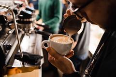 Latte Art @ Orso Nero February 2018