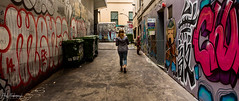 In the Alley (furbs01 Thanks for 5,000,000 + views 28 Jan 2018) Tags: tag tagging colour color paint skips girl graffitti