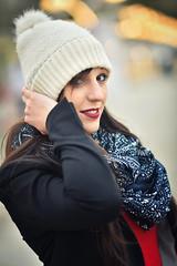 Street portraits : Elodie : Winter 2018 : Bordeaux : France (Benjamin Ballande) Tags: street portraits elodie winter 2018 bordeaux france